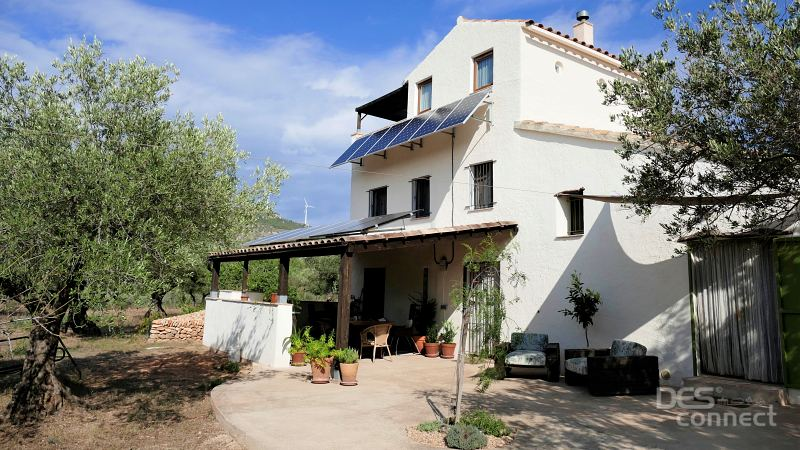 03 Casa Rural Agroturismo Catalunya Costa Dorada Casa Ecologica Desconnect